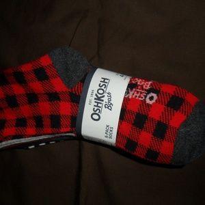 Nwt- Reduced-Oshkosh 6pk boys socks